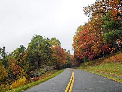 Blue Ridge Parkway - Autumn in Ashe and Watauga Counties, NC