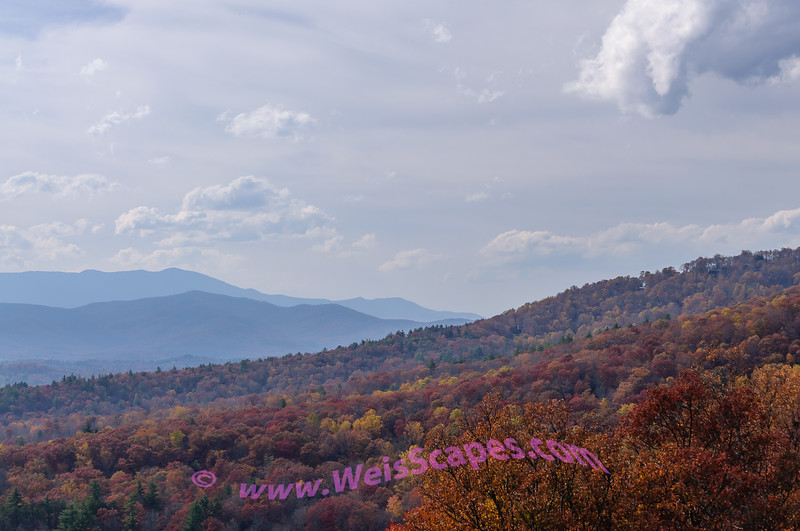 From the Bear Den Overlook on the Blue Ridge Parkway.