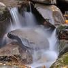 Cascade, Rainbow falls trail in Great Smokey Mountain National Park.