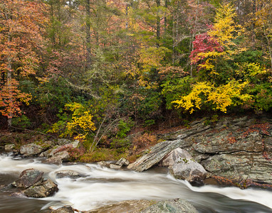 Autumn on the Linville River ~Blue Ridge Parkway ~ October 2009