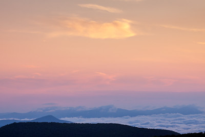 Pastel Dawn, Blue Ridge Parkway