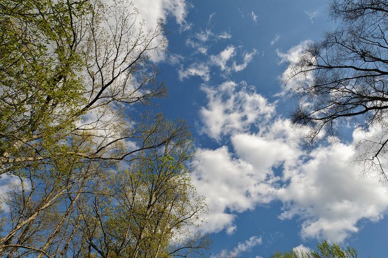Blue Sky over Toms River NJ  Apr 2011