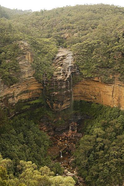 Wentworth Falls, the first big drop.