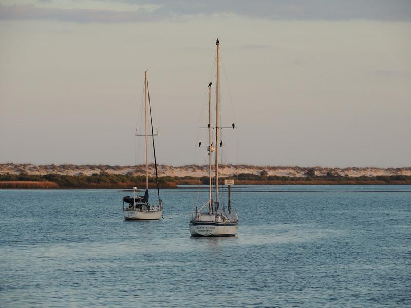 Boating Near Sunset