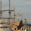 El Galeon- El Galeón, a 175-foot authentic wooden replica of  a Spanish galleon, that was built in Spain