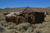 The Klipstein House in Bodie California, 9-25-09. The schoolhouse is to the left in the background.
