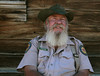 California State Parks Tour Guide Mr. John Buie , Bodie, Calif. ghost town.