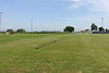 Sproeien voetbalveld