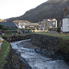 Boscastle in Cornwall UK