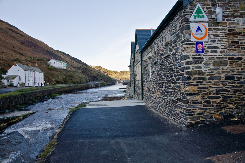 The stream that flooded Boscastle