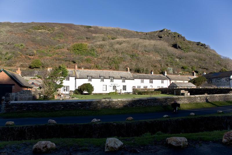 boscastle village in Cornwall