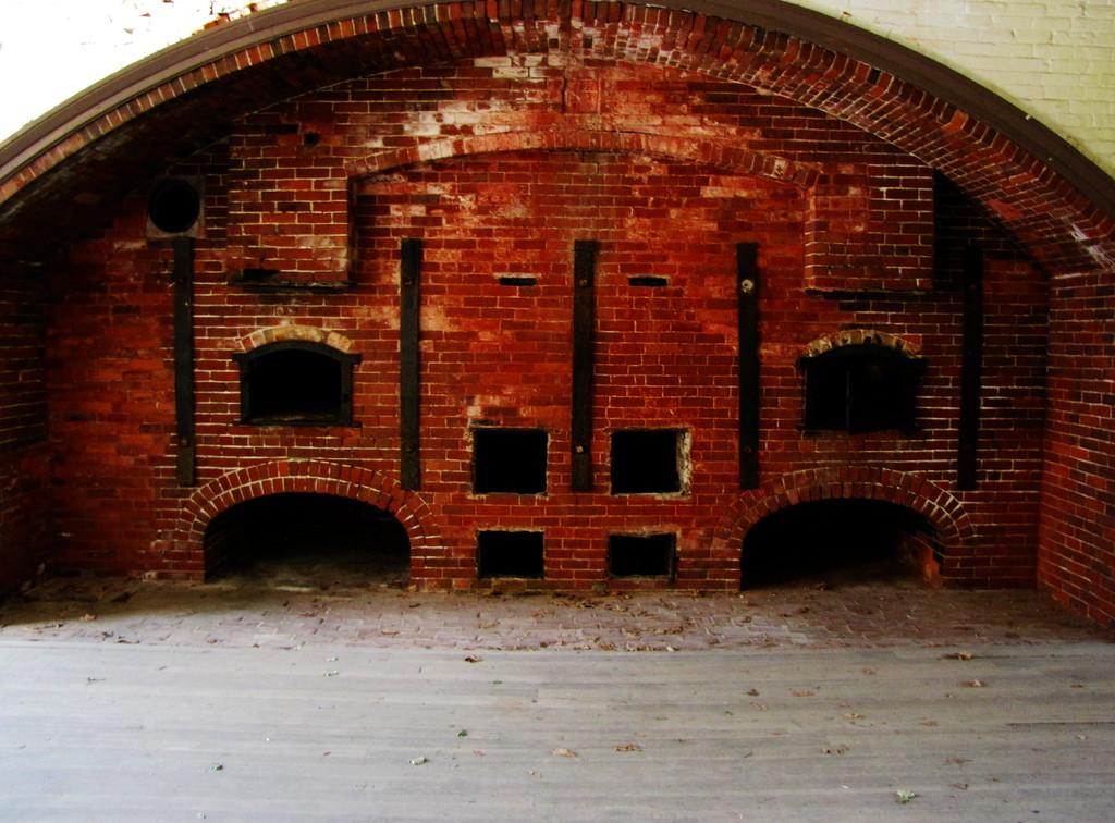 Fort Warren mess bakery