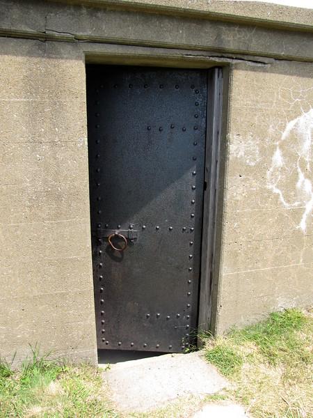 Fort Warren door