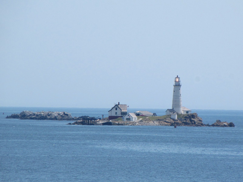 Boston Light on Little Brewster Island