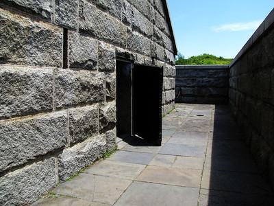Fort Warren Civil War Powder Magazine (c. 1869)