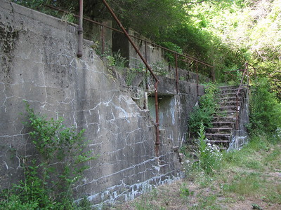 Fort Andrews Coastal Defense observation post