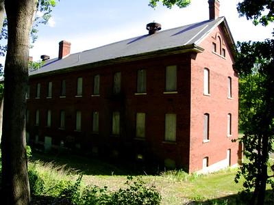 Fort Andrews enlisted men's barracks