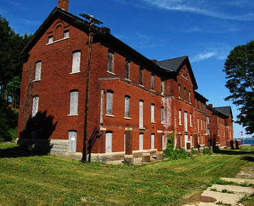 Fort Andrews enlisted men's barracks