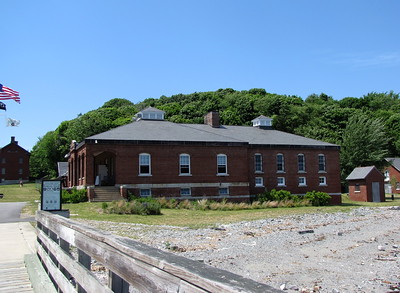 Fort Andrews / Peddocks Island welcome center
