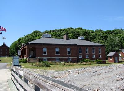 Fort Andrews / Peddocks Island welcome center