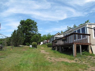 "Peddocks Island cottages ""Main Street"""