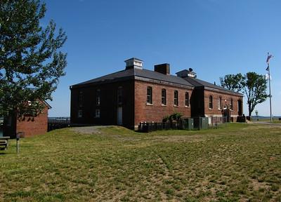 Fort Andrews and Peddocks Island welcome center