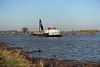 Schip in de haven van Brakel