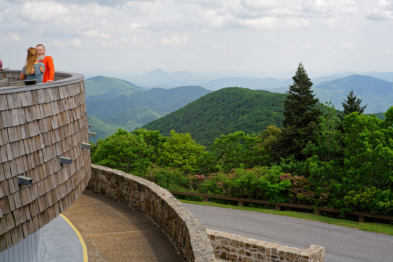 Brasstown Bald .. a beautiful overlook point