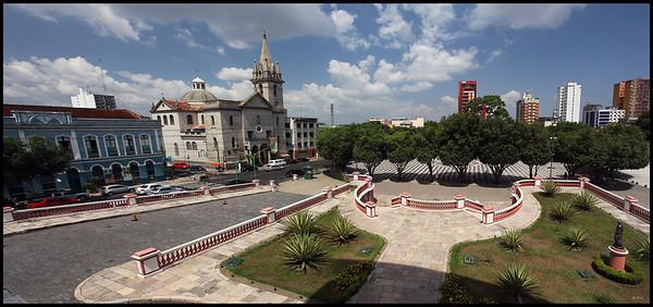 Manaus Cityscape Panorama