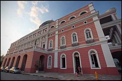 Amazon Theater in Manaus
