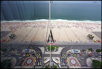 Reflection, Copacabana Beach