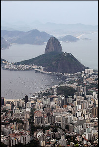 Sugarloaf Mountain and Skyscrapers