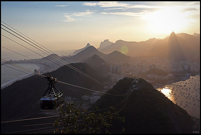 Cable car to the top of Sugarloaf Mountain