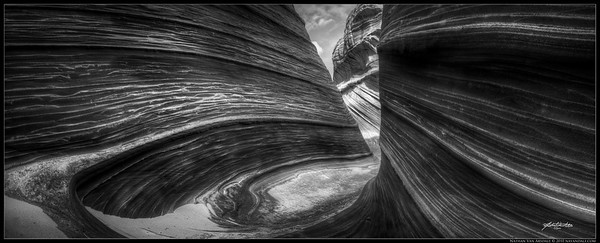 """Hell's Gate"", Coyote Butte's ""The Waves"", Paria Canyon, AZ"