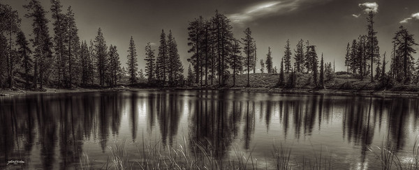 Hemlock Lake, Mt. Lassen, CA