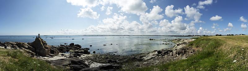 bretagne,brittany,plage,beach,panorama,cross,croix,mer,sea