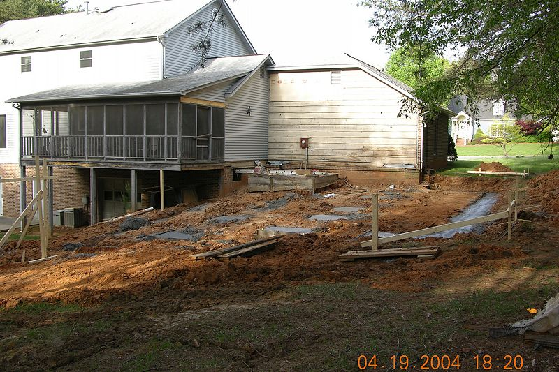 April 19th footings day