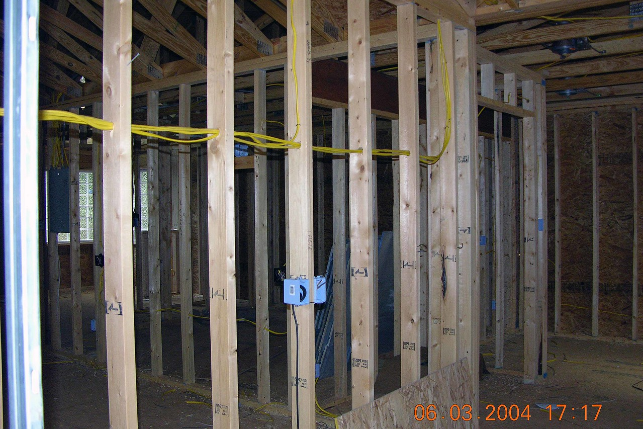 June 3 2004  Mostly electrical work done