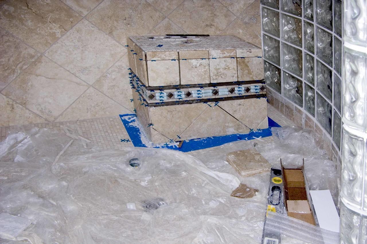 September 8 2004 Seat in shower