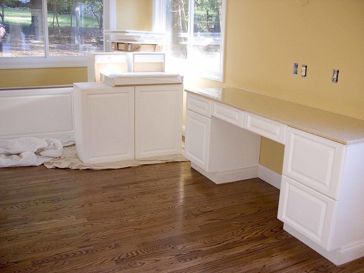 September 20 2004 sewing room with new countertops