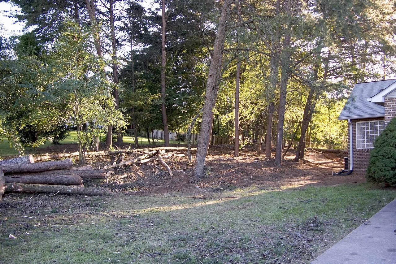 September 20 2004 Front left of house
