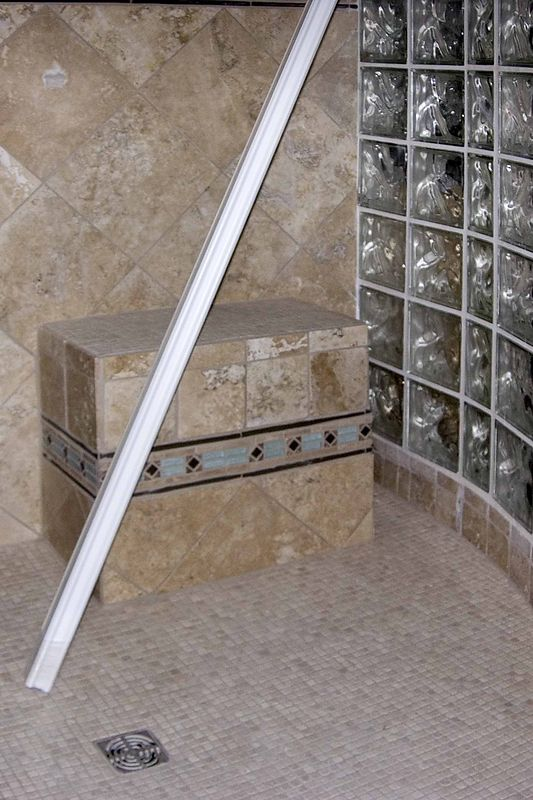 September 14 2004 Seat in shower