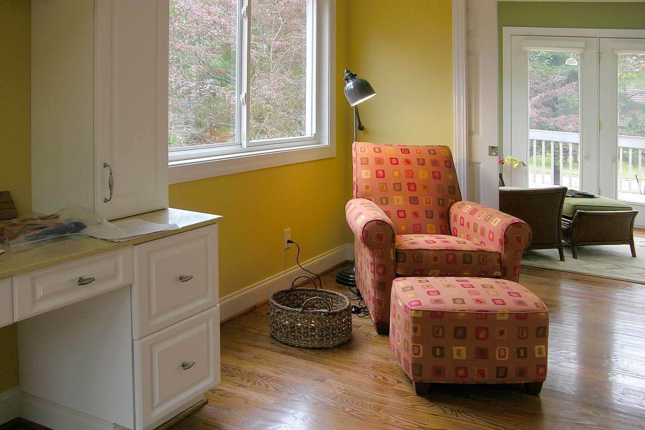 October 14 2004  Sewing room chair