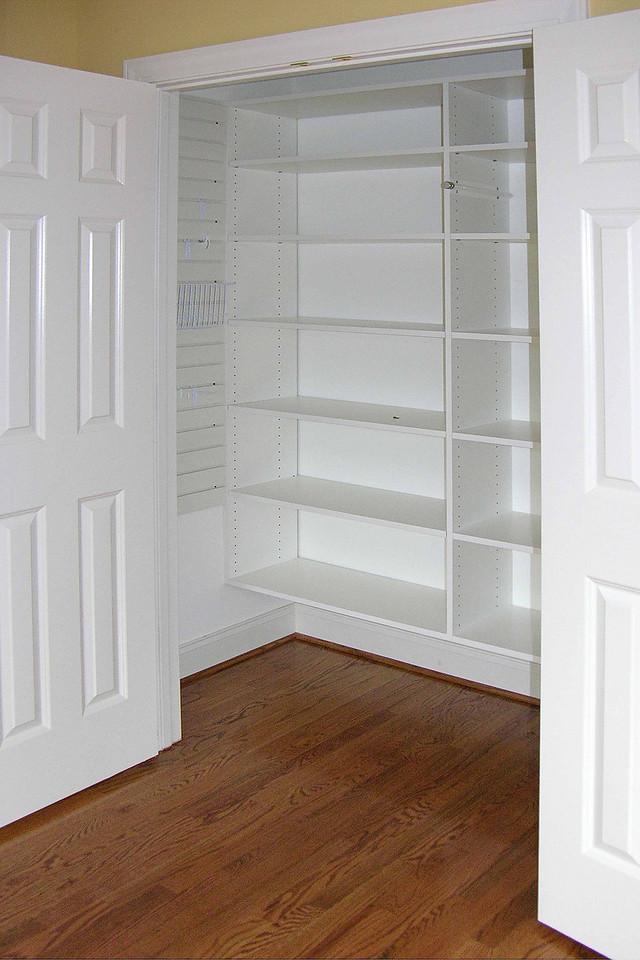 October 3 2004  Sewing room closet