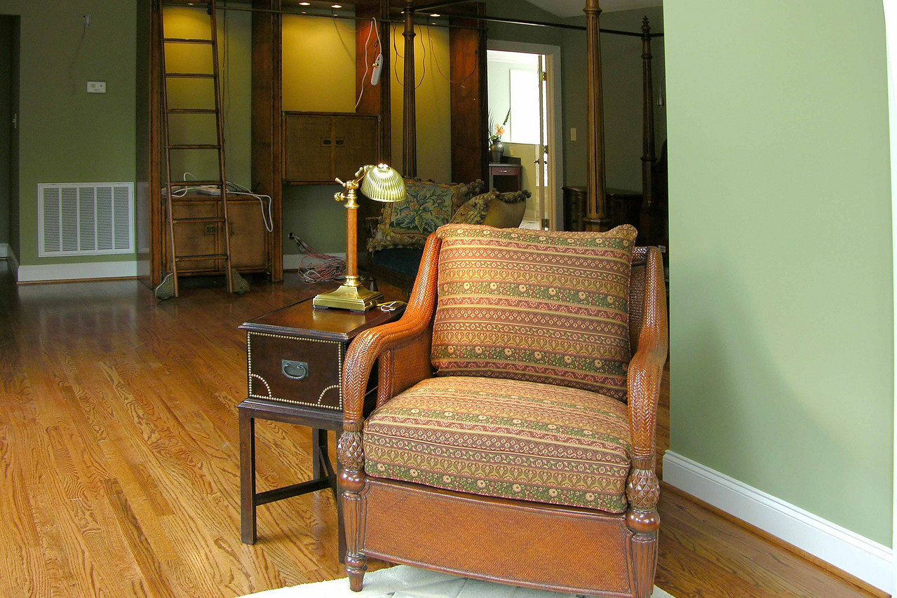 October 14 2004  Tim's sitting room chair