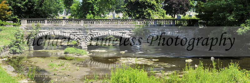 Stone Bridge - 12 x 36  Forest Lawn Cemetery - Buffalo, NY