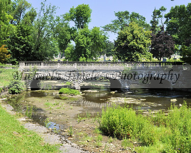 Stone Bridge - 8 x 10  Forest Lawn Cemetery - Buffalo, NY