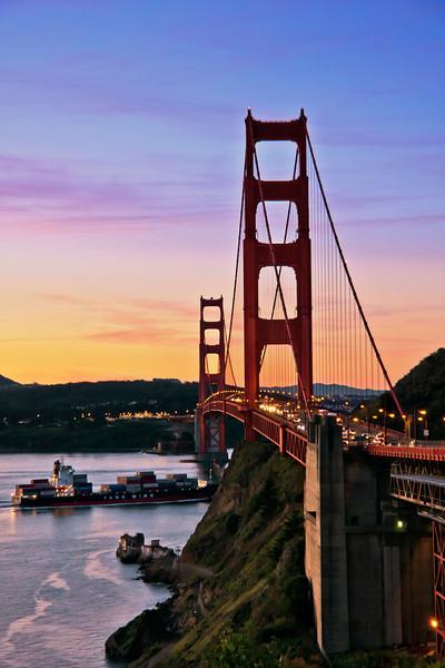 Dawn Golden Gate