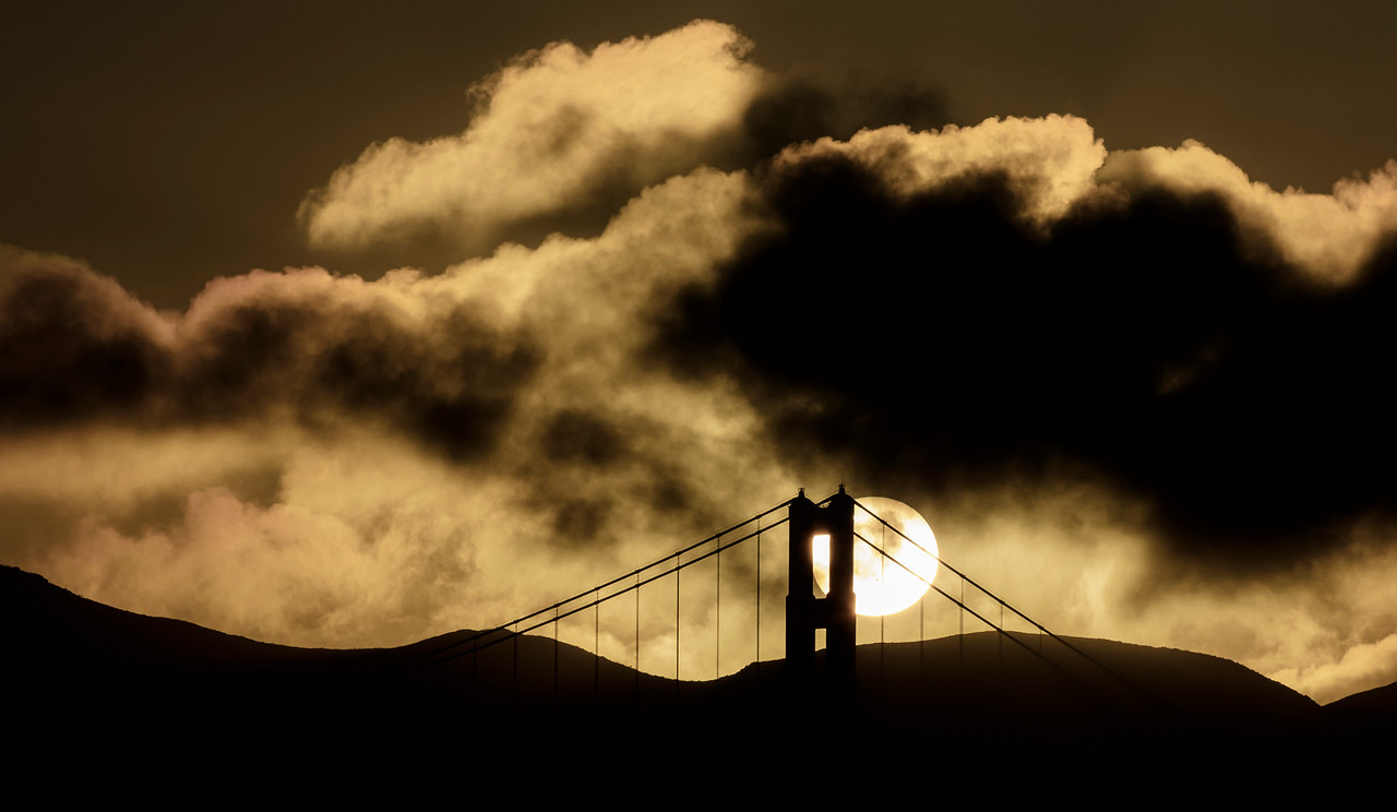 North Tower Sunset