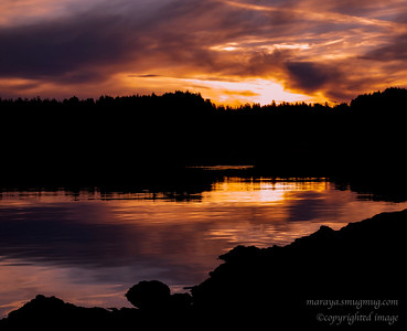 Sunrise Water's Edge, Ucluelet Inlet